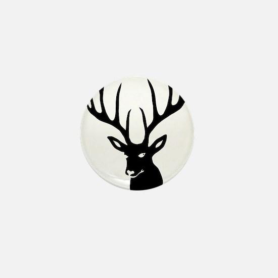 Cute Antlers Mini Button