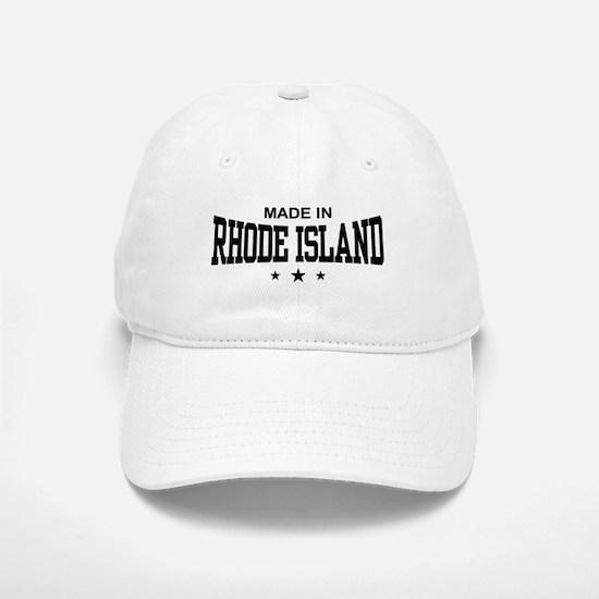 Made In Rhode Island Baseball Baseball Cap