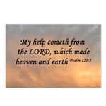 Psalm 121:2 Bible Postcards (Package of 8)