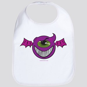 Purple People Eaters Bib