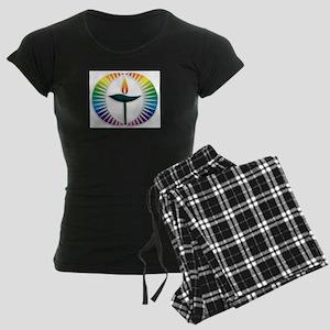 UU Rainbow Logo Women's Dark Pajamas