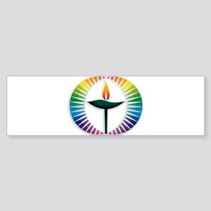 UU Rainbow Logo Sticker (Bumper)