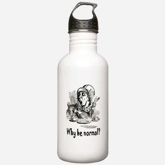 WHY BE NORMAL? Sports Water Bottle