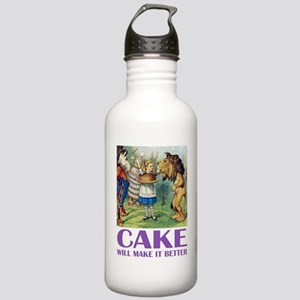 CAKE WILL MAKE IT BETTER Stainless Water Bottle 1.