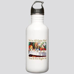 WE'RE ALL QUITE MAD Stainless Water Bottle 1.0L