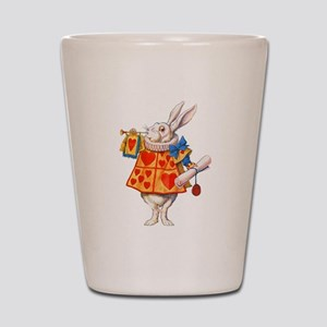 ALICE - THE WHITE RABBIT Shot Glass