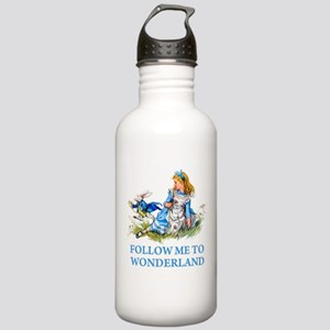 FOLLOW ME TO WONDERLAND Stainless Water Bottle 1.0