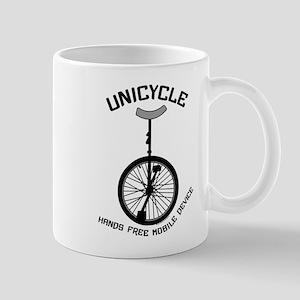 Unicycle Mobile Device Mug