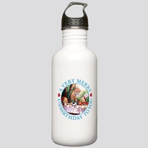 A VERY MERRY UNBIRTHDAY Stainless Water Bottle 1.0