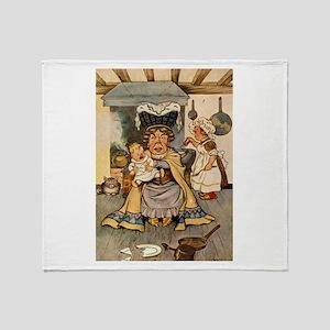 DUCHESS & THE PIG BABY Throw Blanket