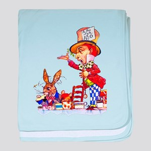 MAD HATTER baby blanket