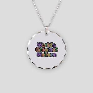 World's Greatest Melissa Necklace Circle Charm