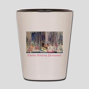 Twelve Dancing Princesses Shot Glass