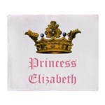 Princess Elizabeth Throw Blanket