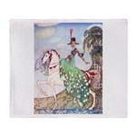 Kay Nielsen Princess Throw Blanket