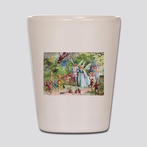 THE MARRIAGE OF THUMBELINA Shot Glass