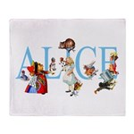 ALICE & FRIENDS Throw Blanket
