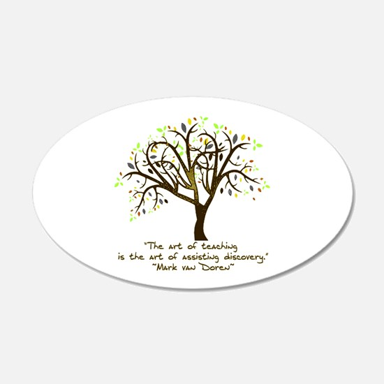 The Art Of Teaching Decal Wall Sticker