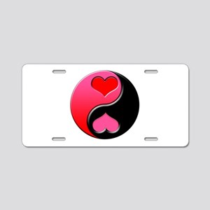 Love Zen Aluminum License Plate