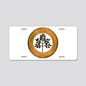 Eternal Growth Aluminum License Plate