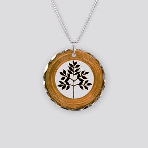 Eternal Growth Necklace Circle Charm