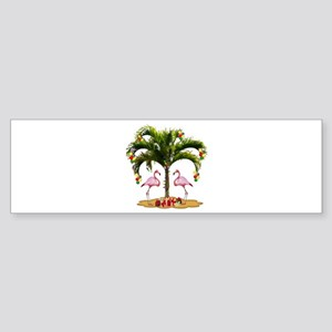 Tropical Holiday Sticker (Bumper)