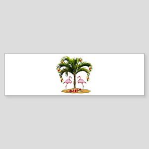 Tropical Holiday Sticker (Bumper)
