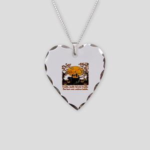 Cauldron Necklace Heart Charm