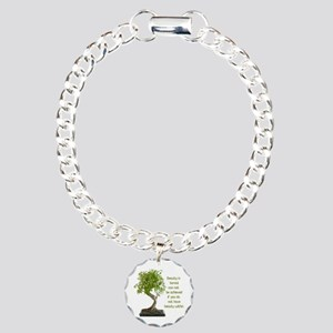 Bonsai Beauty Charm Bracelet, One Charm
