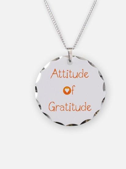 Attitude of Gratitude Necklace