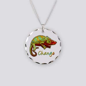Change Necklace Circle Charm