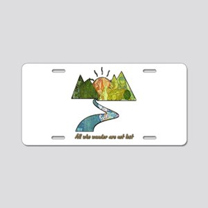 Wander Aluminum License Plate
