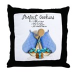 Perfect Cookies Throw Pillow