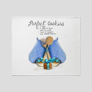 Perfect Cookies Throw Blanket