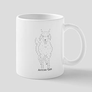 Angora Goat Geek ASCII Mug