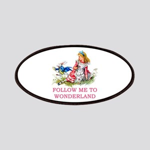 ALICE - Follow Me To Wonderland Patches