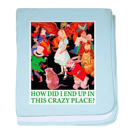 THIS CRAZY PLACE baby blanket