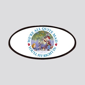 MAD HATTER'S TEA PARTY Patches