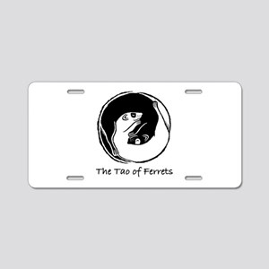 Tao of Ferrets Aluminum License Plate