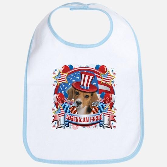 American Pride Beagle Bib