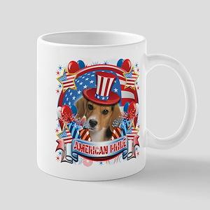American Pride Beagle Mug
