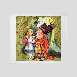 ALICE & THE DUCHESS Throw Blanket