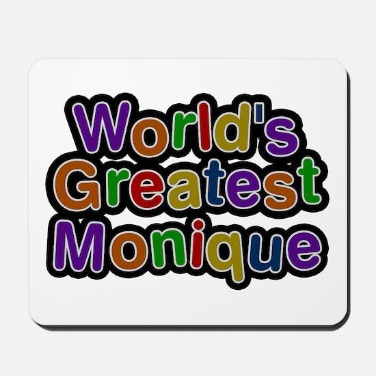 World's Greatest Monique Mousepad