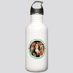 I'VE BEEN TO WONDERLAND Stainless Water Bottle 1.0