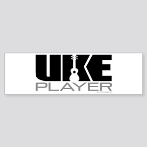 Uke Player Sticker (Bumper)