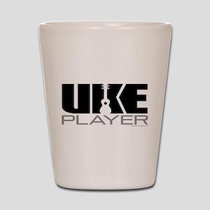 Uke Player Shot Glass