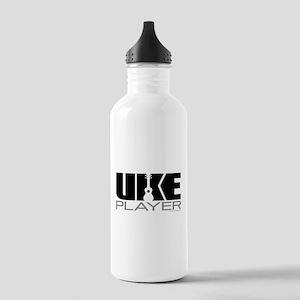 Uke Player Stainless Water Bottle 1.0L
