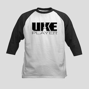 Uke Player Kids Baseball Jersey