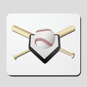 Baseball Home Plate Mousepad