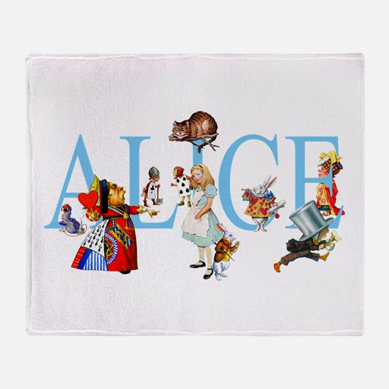 ALICE & FRIENDS Throw Blanket